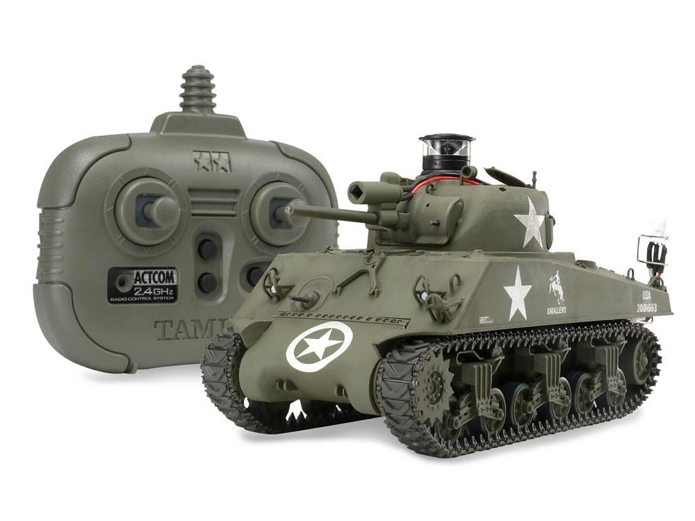 Rc Us Medium Tank M4A3 Sherman