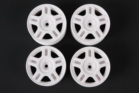 Rc White Split 5-Spoke Wheels