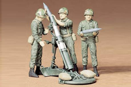 U.S. 107Mm Mortar/Crew Kit
