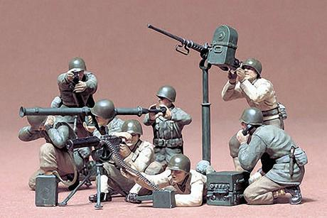 U.S. Gun And Mortar Team Kit