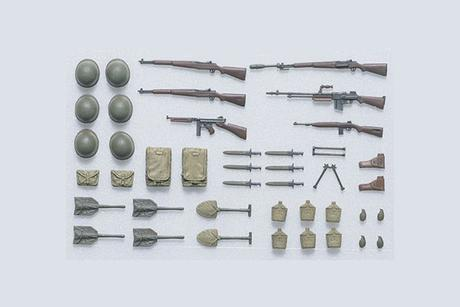 Us Infantry Equipment Set