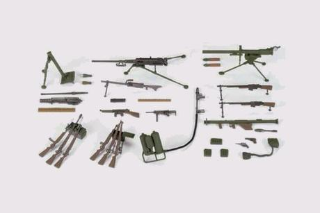 U.S. Infantry Weapons Set Kit