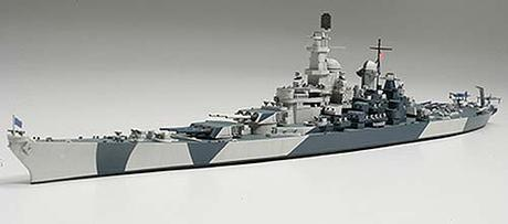 Us Navy Battleship Bb-61 Iowa