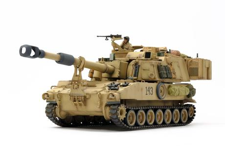 Us Self-Propelled Howitzer