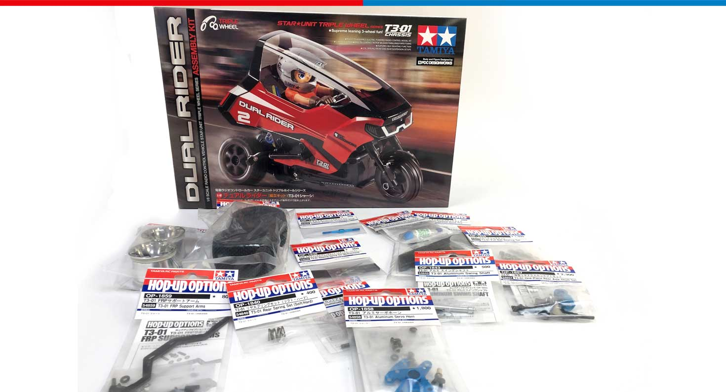 Tamiya 57407 T3-01 Dual Rider Rally Build