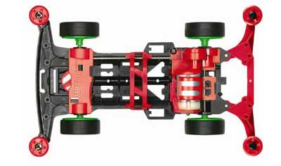 Mini 4WD Super II Chassis