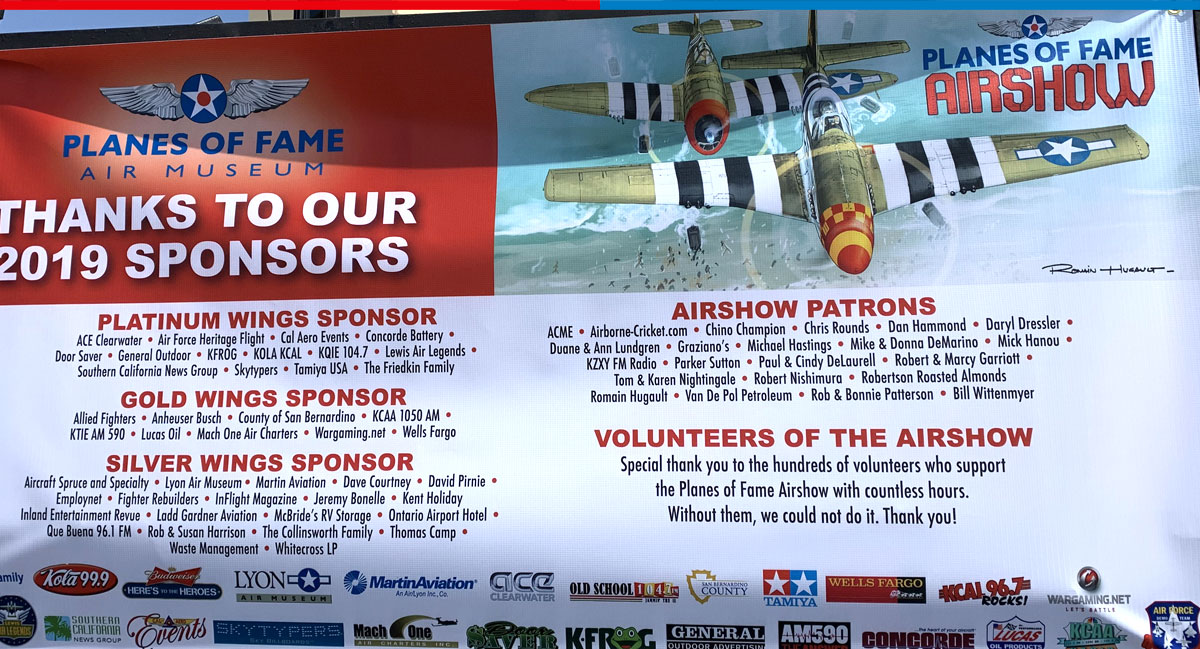 Planes of Fame Airshow 2019